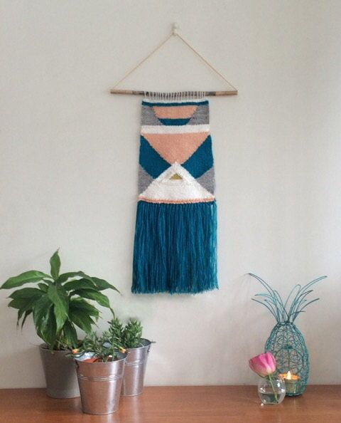 Sofia, Medium Handmade woven wall hanging/ Hand weaving/ Wall Art