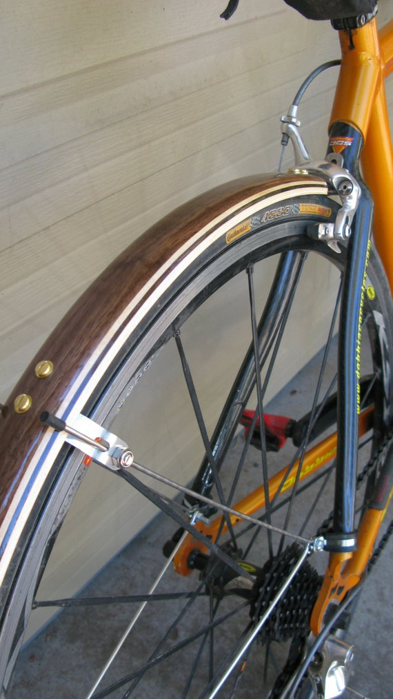 Woodys Compound Curve Road Bike Fenders For 700c Wheels