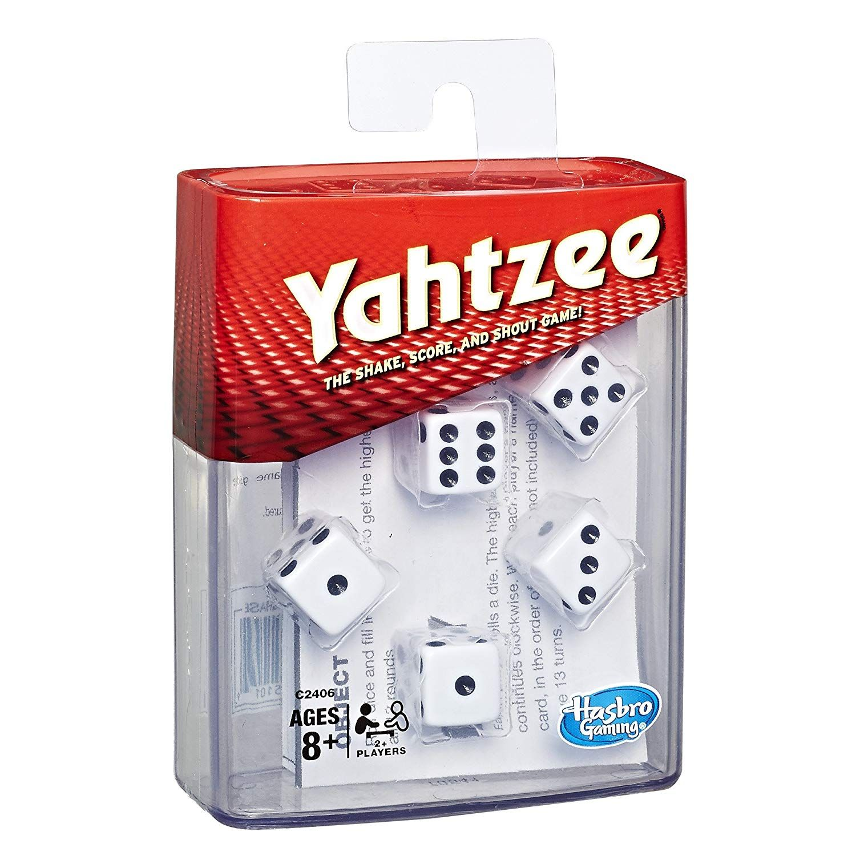 Hasbro Gaming Yahtzee Board Game Toys & Games Classic