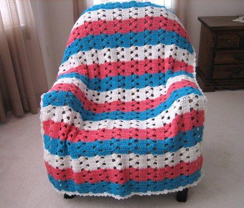Pastel Baby Afghan Pattern
