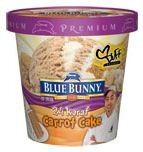 Carrot Cake Ice Cream. OMG~ MUST FIND! {Edit to say - Found - not as awesome as I thought it would be.}