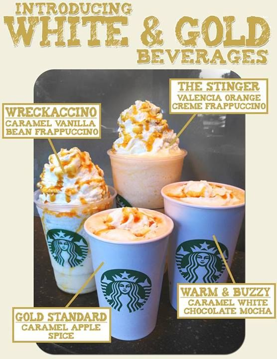 White Gold Themed Starbucks Drinks At The Barnes Noble Georgia