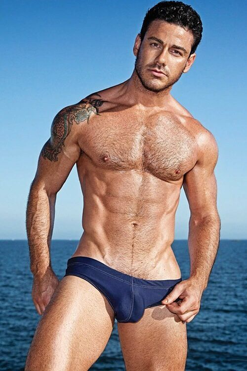 Sexy marine man