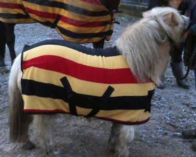 Stripe Rug Soft Warm Pony Foal