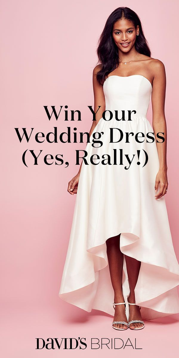 Enter now for your chance to win your gown from David\'s Bridal. Good ...