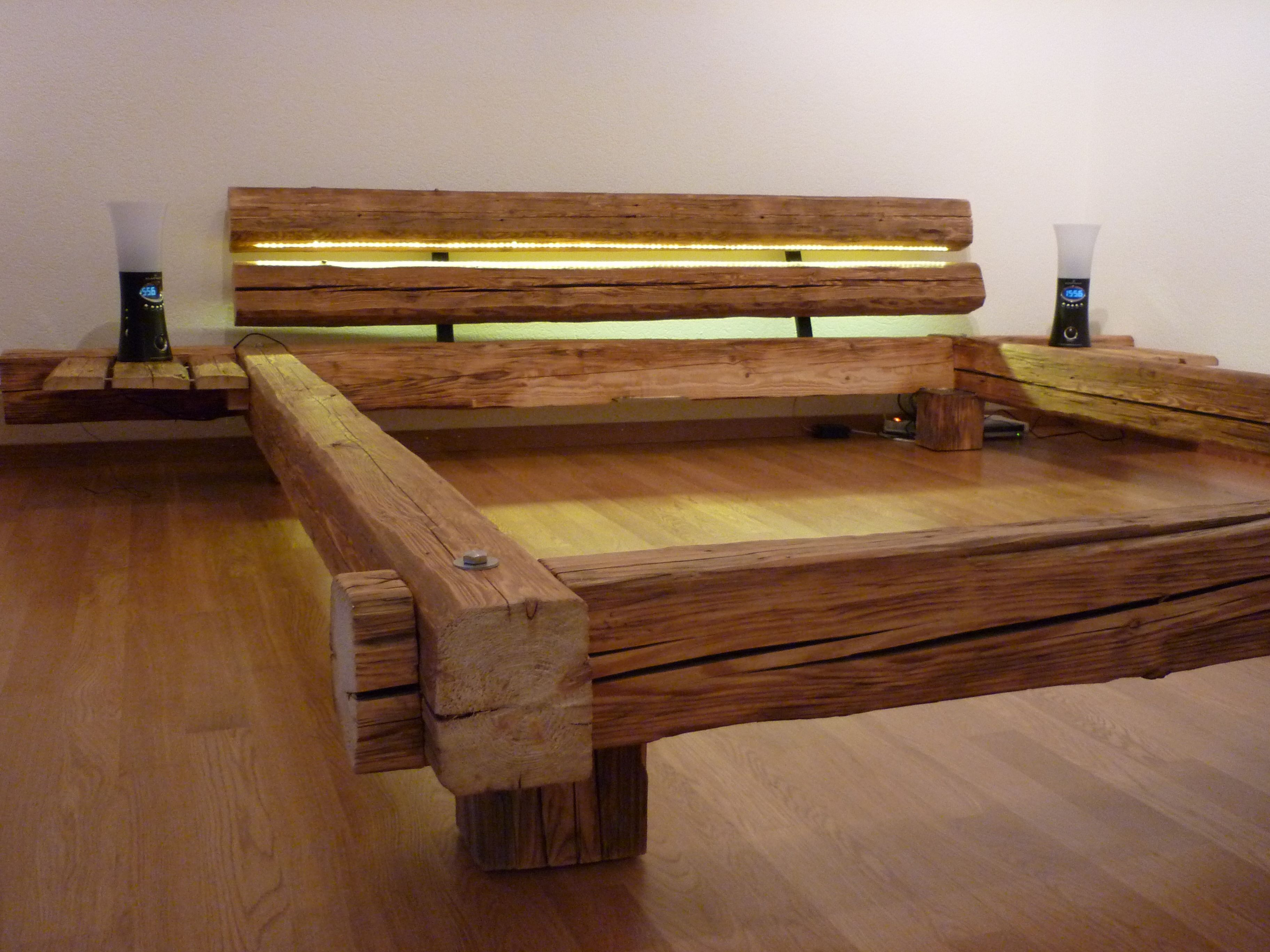 Tolle Bett Aus Massivholz Holzmöbel Pinterest Schlafzimmer