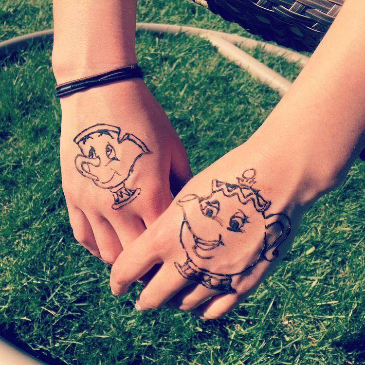 Mrs Potts And Chip Disney Henna Henna Designs Henna