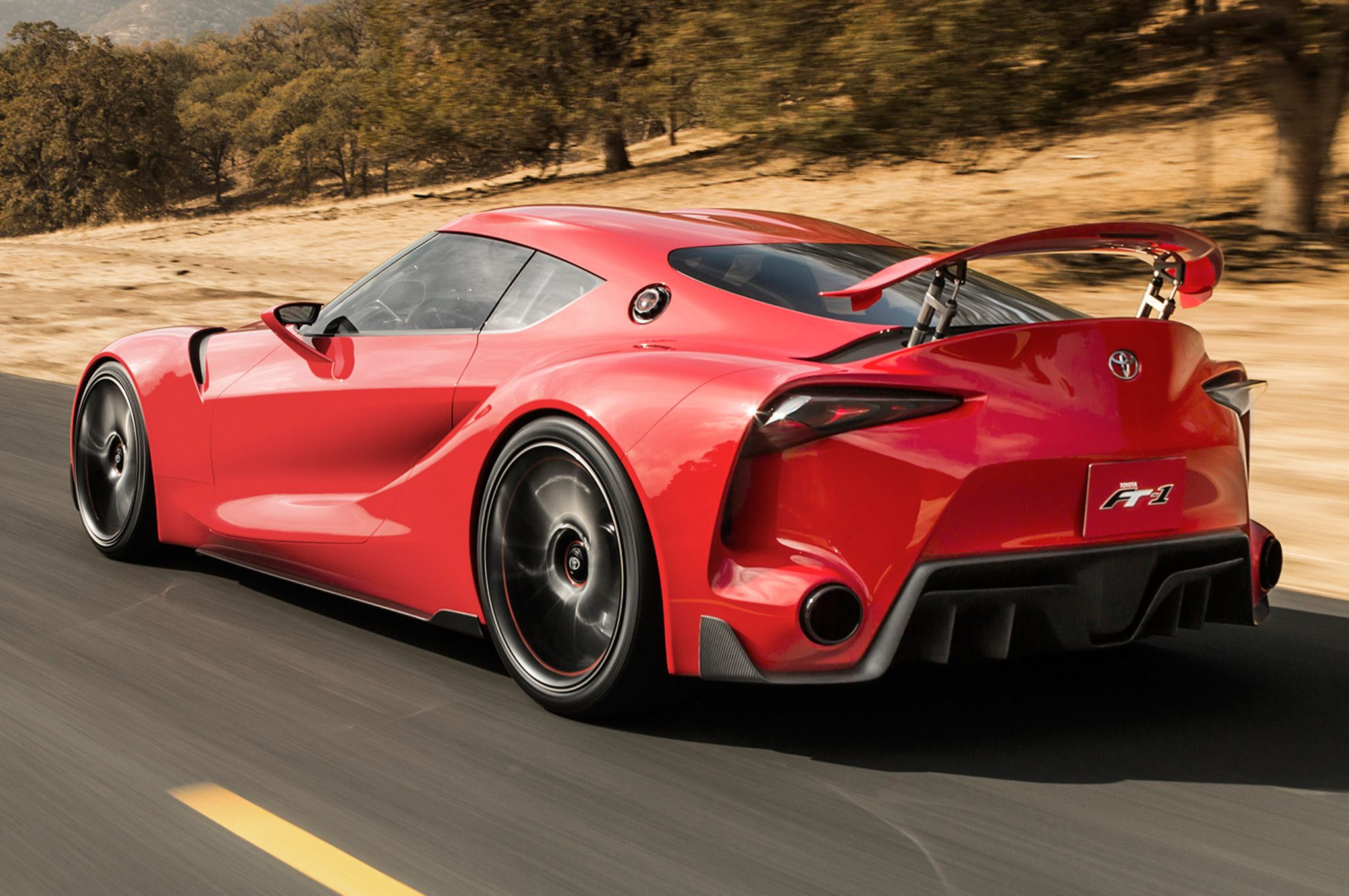 2014 Toyota FT 1 Rear View Exotic Cars Pinterest