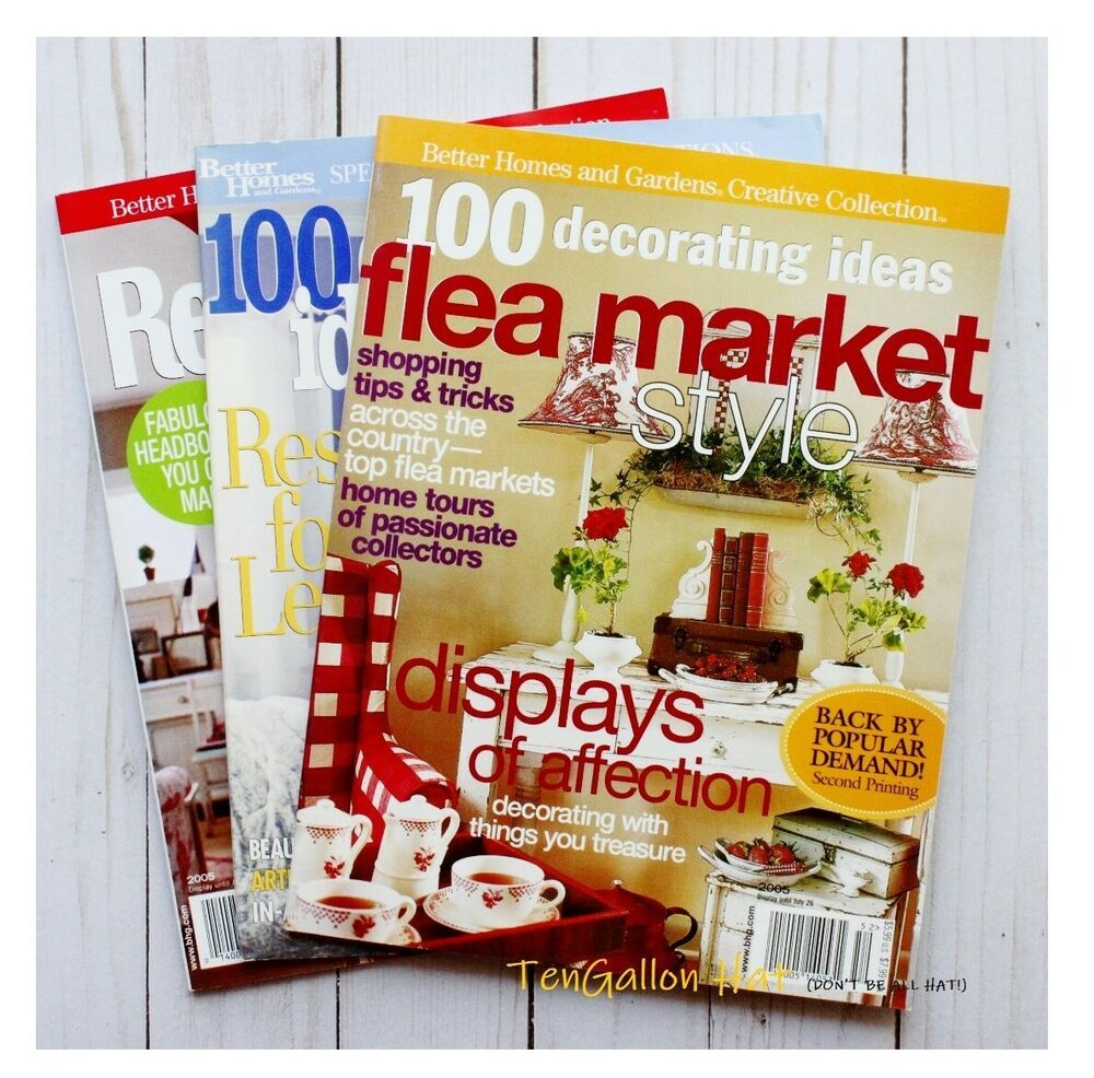 09556f5dac879258d26c9f26425b163b - Better Homes And Gardens Flea Market Style Magazine