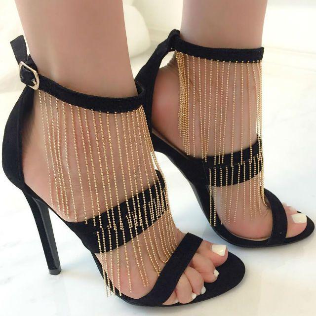 Women's Stilettos Beade Zip Point Toe Dress Boots