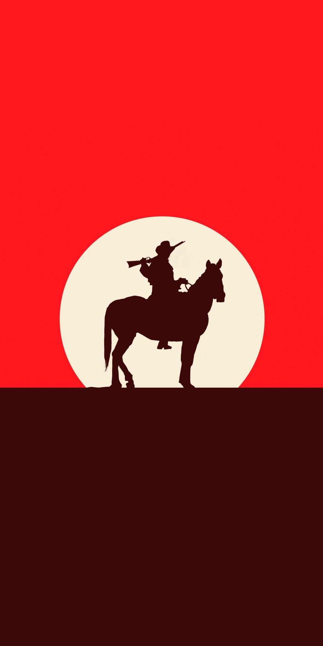 Red Dead Redemption 2 Sunset Silhouette 2018 Game Cowboy 1080x2160 Wallpaper Red Dead Redemption Artwork Red Dead Redemption Iphone Wallpaper Pattern