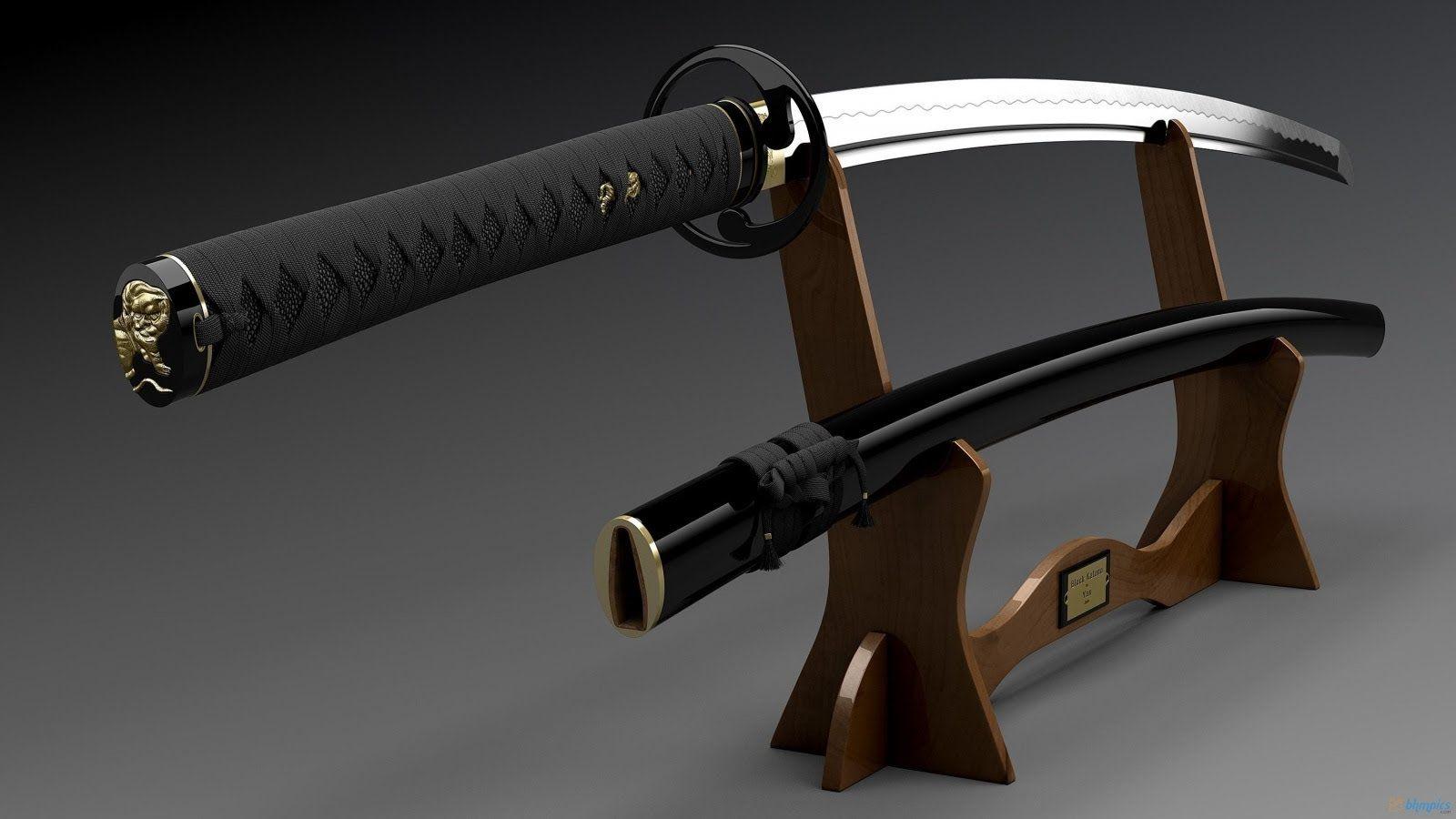 Katana Sword Wallpaper 1600x900 10694 Espadas Katana
