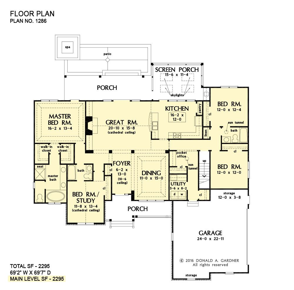 Plan Of The Week Under 2500 Sq Ft The Astaire House Plan 1286