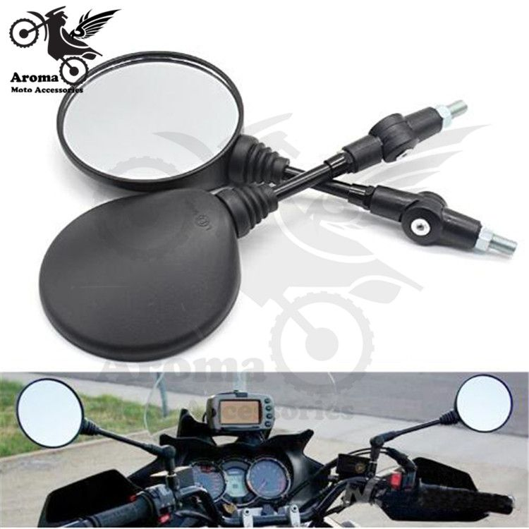 Frenshion Motorcycle Handle Bar End Mirrors Rear View