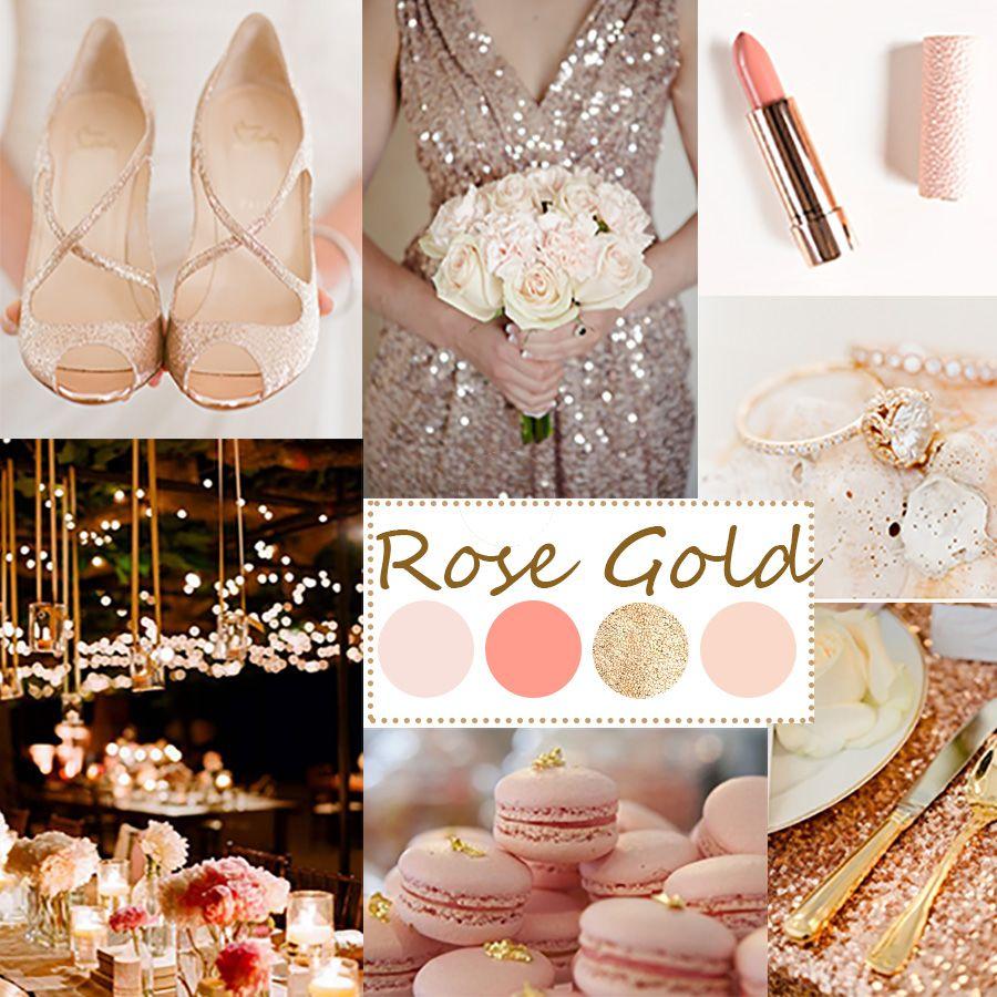 rosegold blushpink mint gold wedding theme google search