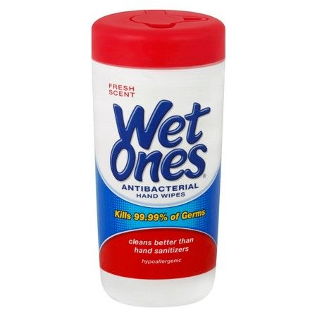 You are going to want some moist towelettes.