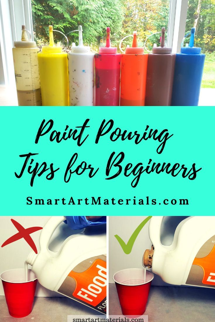 Acrylic Paint Pouring Tips and Tricks - Must-knows for Beginners!  Join Smart Art Materials Facebook group for more info