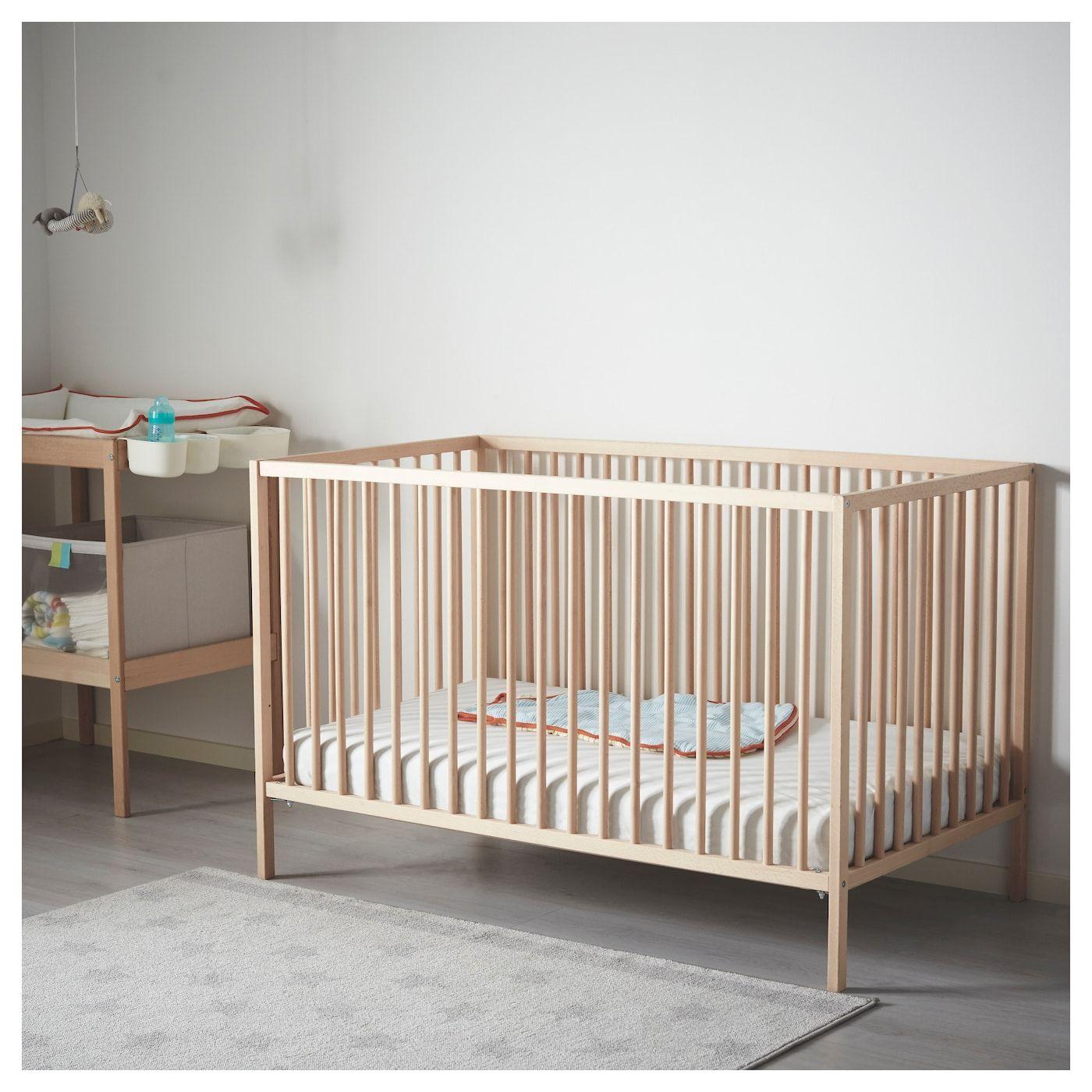 Sniglar Crib Beech 27 1 2x52 Ikea Sniglar Crib Cribs Ikea Crib