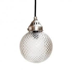 Lámpara Colgante Globo Cristal