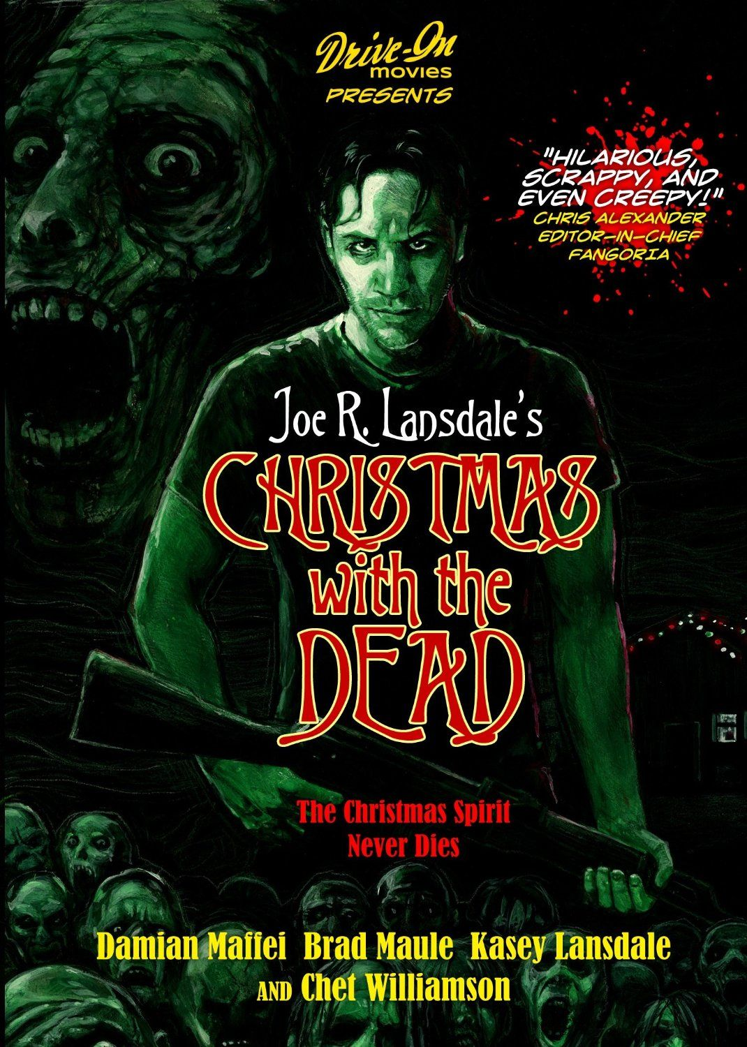 Christmas with the Dead Christmas horror, Black