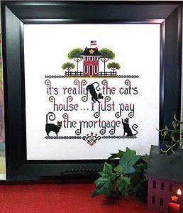 Kit & Bixby - It's The Cat's House – Stoney Creek Online Store