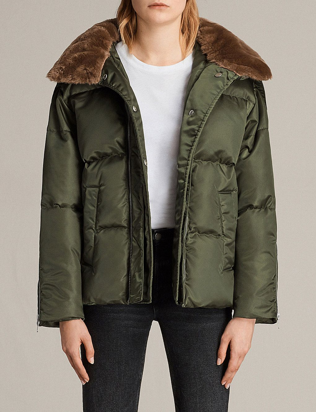 503925967 Pax shell puffer jacket | The winter coat project | Fur puffer coat ...