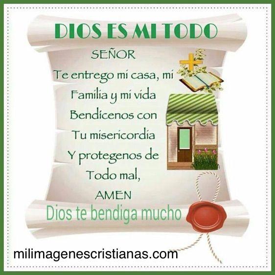 Imagenes Cristianas De Bendice Mi Familia Imagenes De