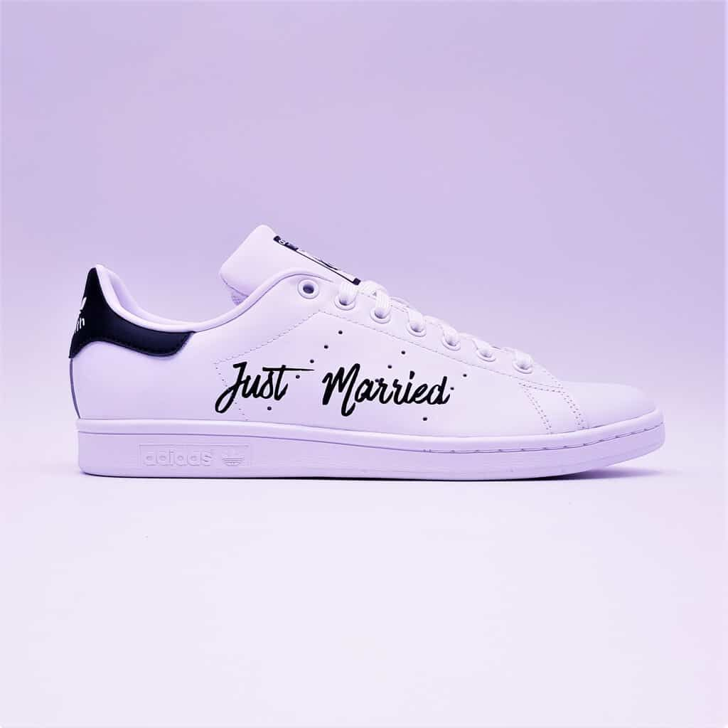 Adidas Stan Smith Just Married Elegance Bleu | Adidas stan