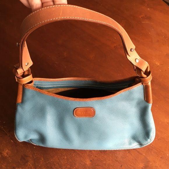 Beautiful Italian Made Leather I Santi Handbag
