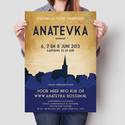 Poster Anatevka De Musical Poster Convenience Store Products