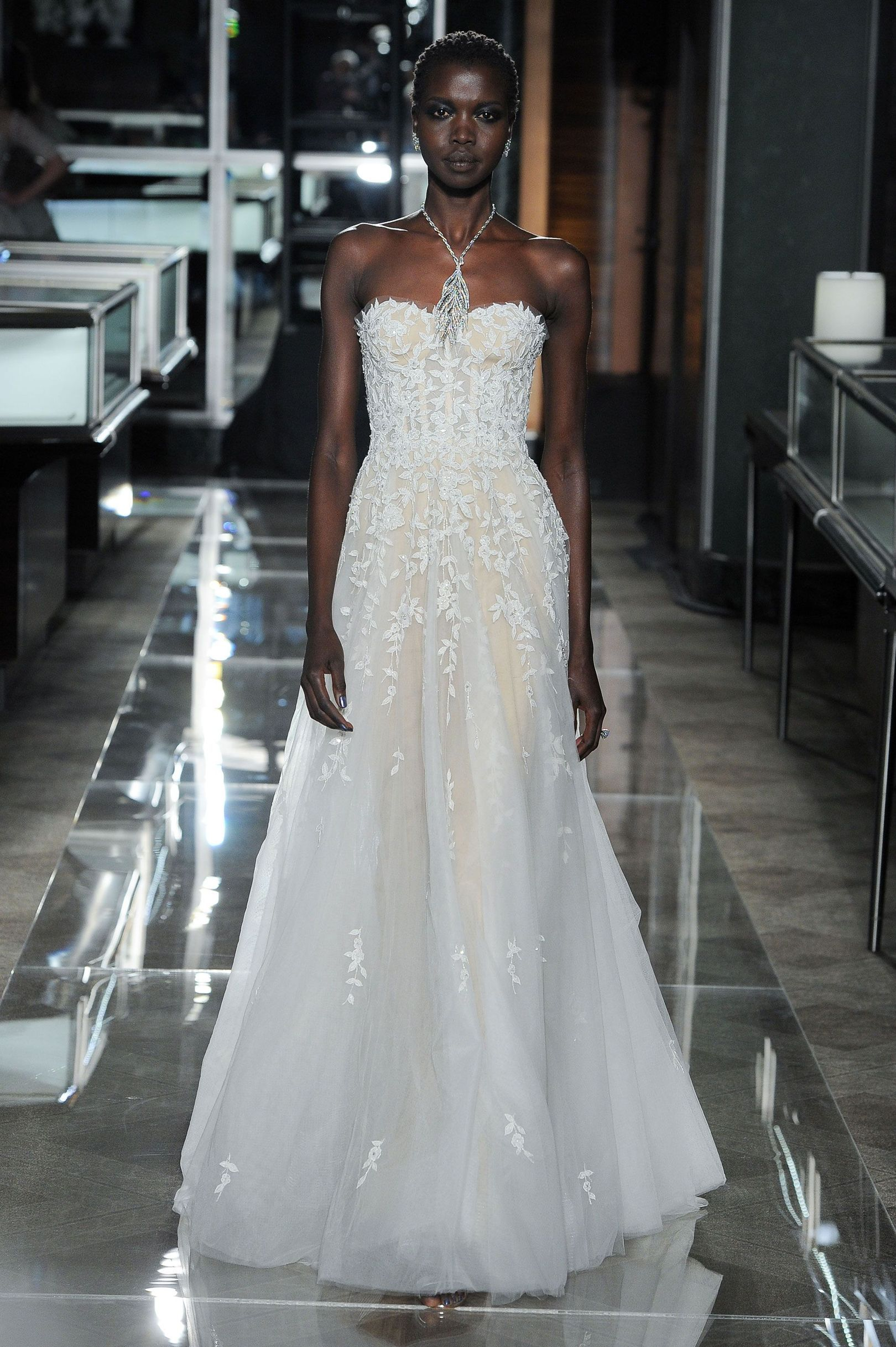 Trendy wedding dresses  Reem Acra SpringSummer  Bridal  Spring summer Spring and Summer