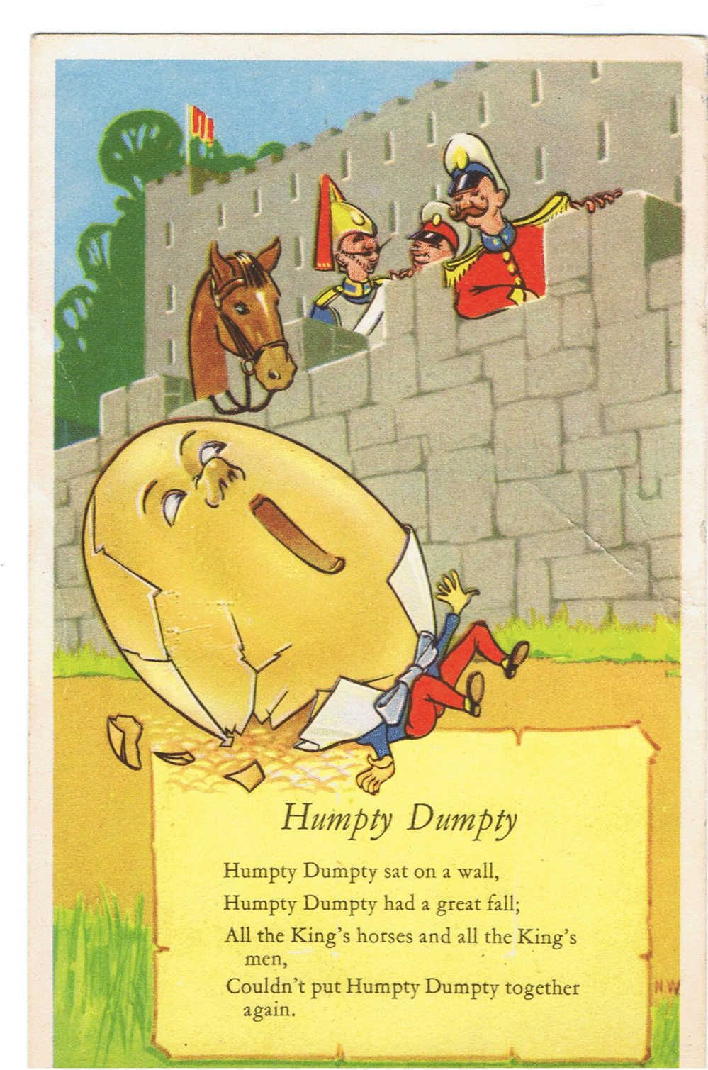 Humpty Dumpty Nursery Rhyme | Art | Pinterest | Humpty dumpty ...