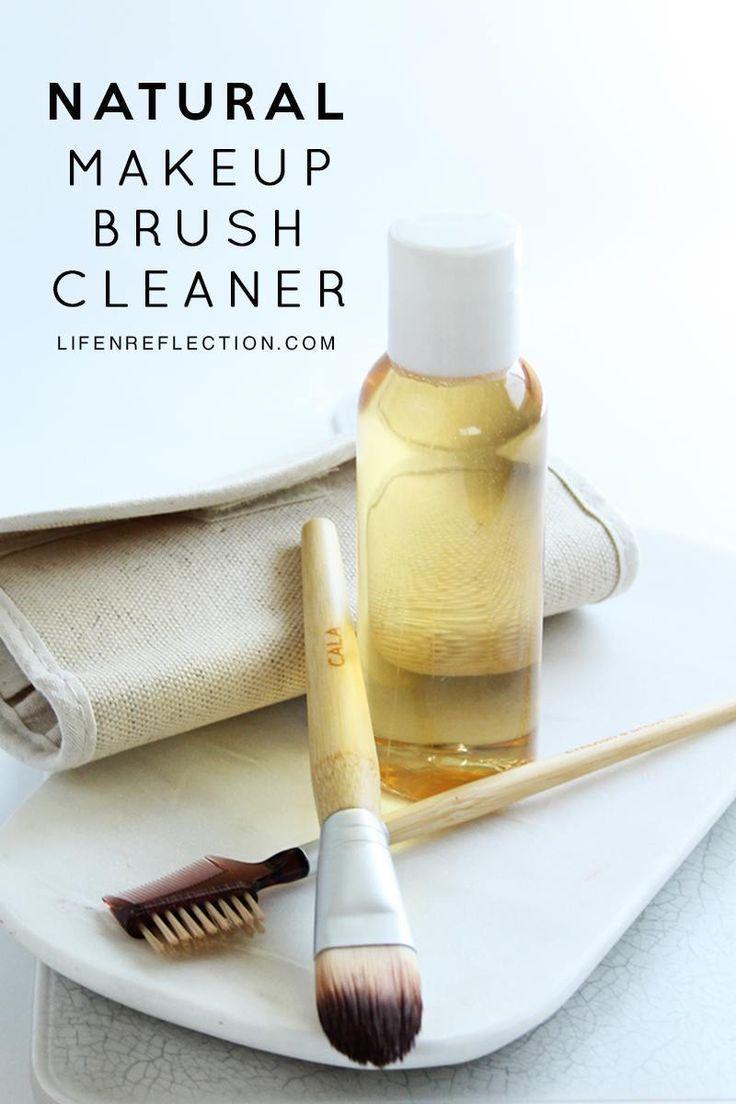 Photo of No Natural Foot DIY Makeup Brush Cleaner Recipe # BeautyBlog #Makeu …