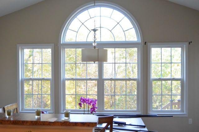 Designed To Dwell Morning Room Challenge How Trim An Arched Window