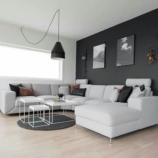 Wohnungen Dresden, Grauer Pullover, Wohnung Gestalten, Wohnung Einrichten,  Wohnbereich, Wandfarbe, Inneneinrichtung, Schöne Dinge, Schwarz Weiß