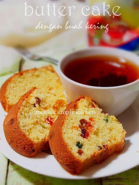 Butter Cake Dengan Buah Kering Monic S Simply Kitchen Buah Kering Makanan Manis Kue Mentega