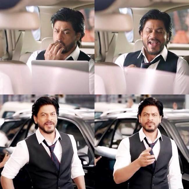 #SRK @iamsrk For #DishTV  Ads ...  https://vimeo.com/85015790  @SRK_LIVE