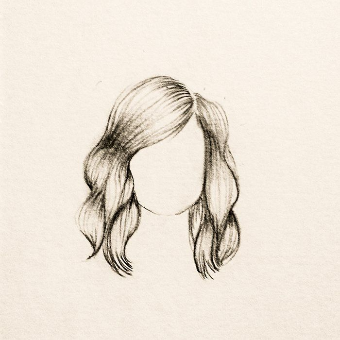 Cabelo Curto Ondulado Cabelo Desenho Desenho De Cabelo