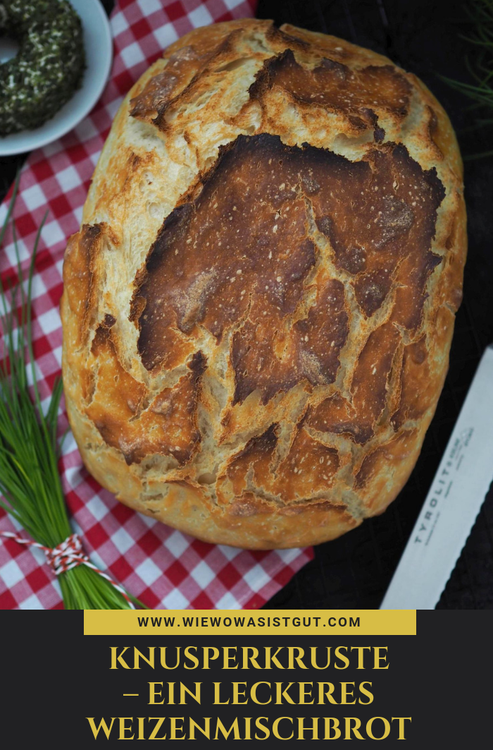 Knusperkruste – ein leckeres Weizenmischbrot für's Vesper – wiewowasistgut.co…