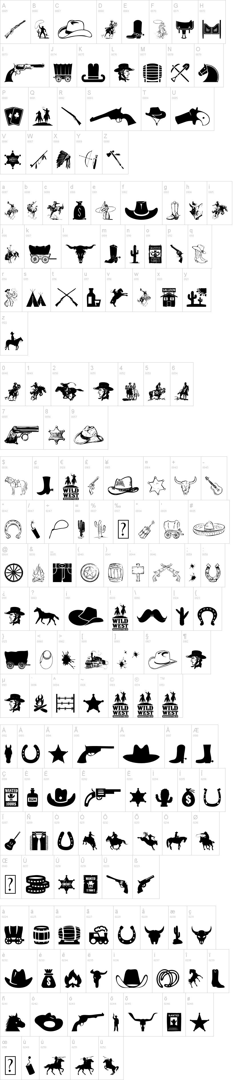Wild West Icons | Logo | Pinterest | Sei kreativ, Ausschneiden und ...