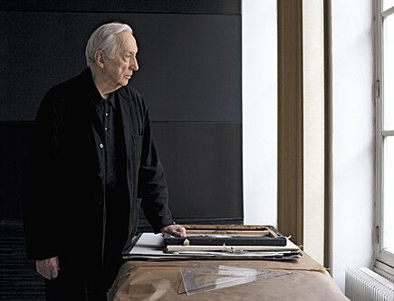 Pierre Soulages in Paris studio 2011 © Johanna Diehl, Berlin