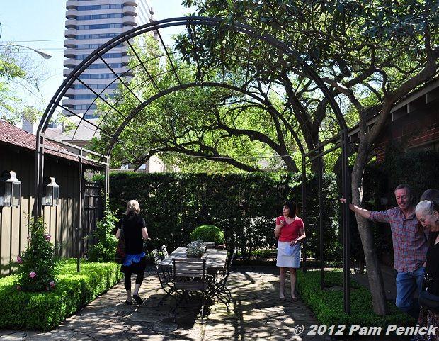 Houston Open Days Tour 2012 Lofgren Bayer Garden Metal