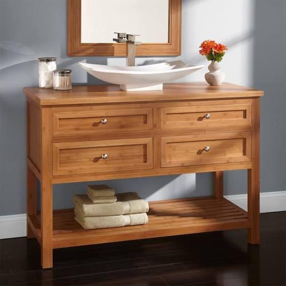 vessel sink vanity A bath that relaxes Pinterest Vessel sink