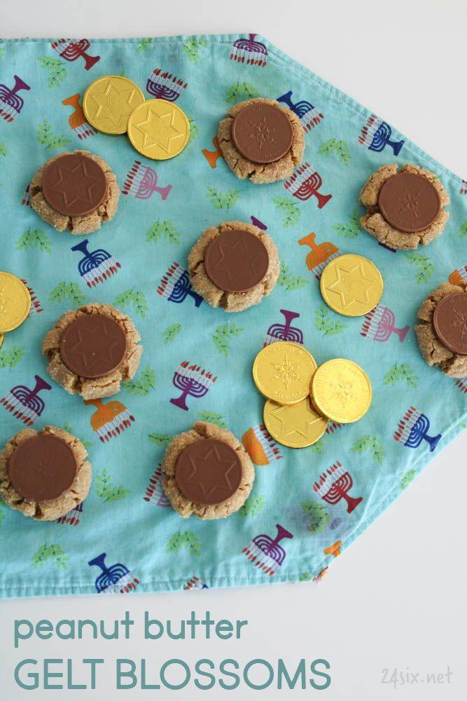 24six.net | handmade, homecooked Jewish life #peanutbutterblossomcookies