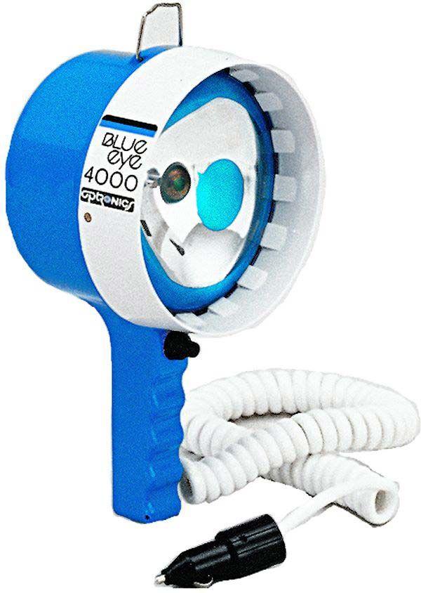 Kb 4001 Optronics Blueeye Beam 12 Volt Spotlight Handheld Spotlight Candle Power Spotlight