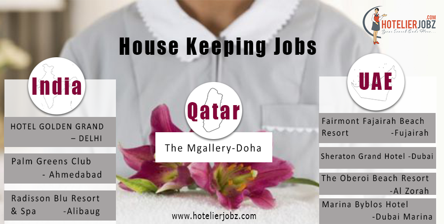 House Keeping Jobs in India and abroad Housekeeping attendants – Housekeeping Supervisor Salary