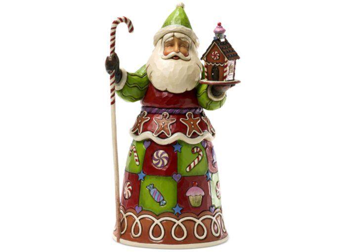 Jim shore sweet shop santa collectible figurine holiday lane