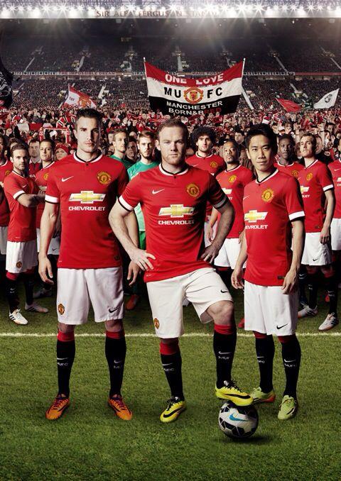 New era, new shirt. This is how Louis van Gaal's #mufc will look in 2014/15.