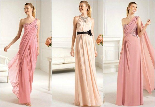 Vestidos griegos femeninos