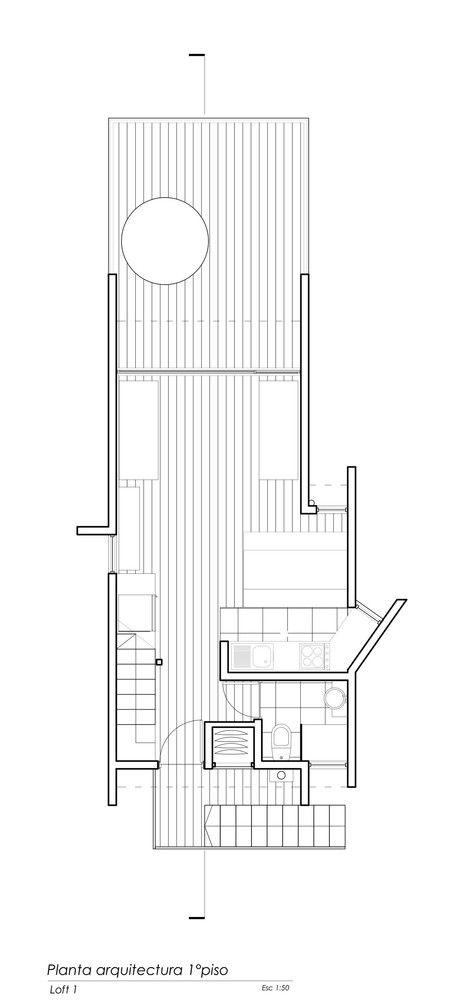 Galería de Lodge del Mar / Loft 7 - 17